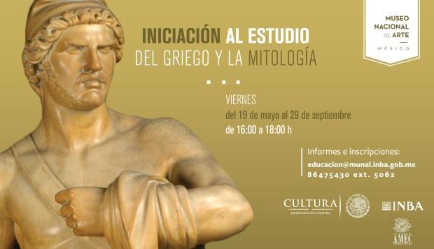 Curso Iniciación al estudio del griego y la mitología
